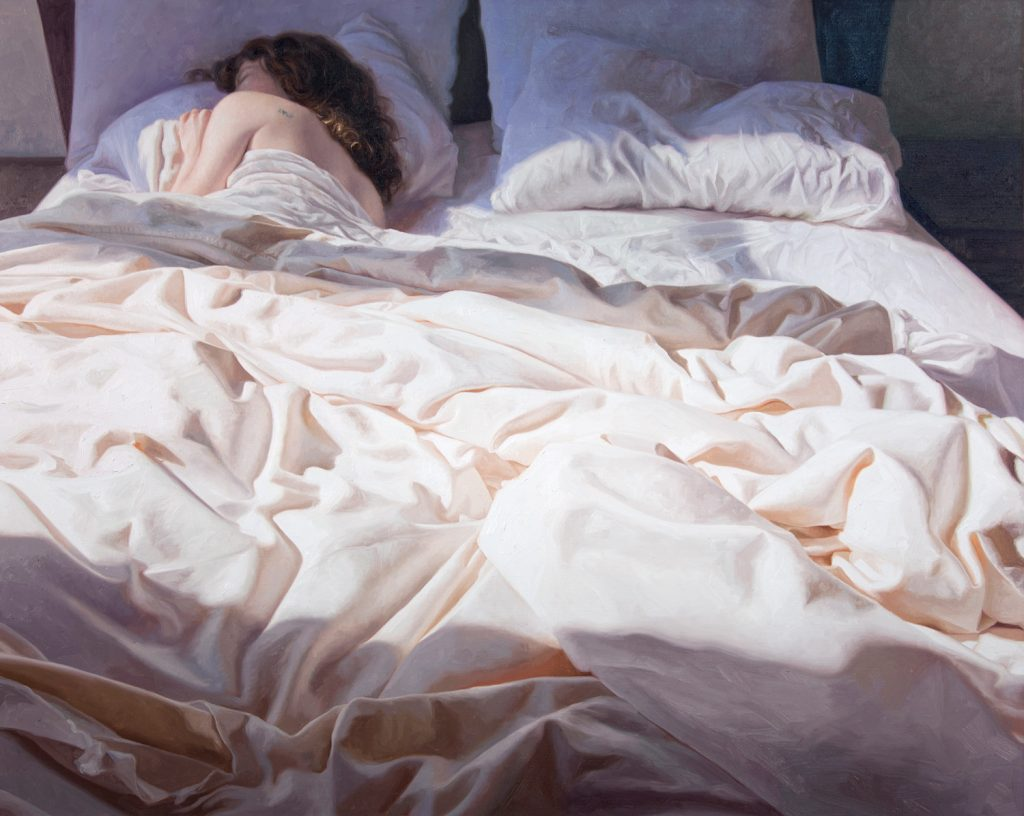 alyssa monks painting morning after ii commission