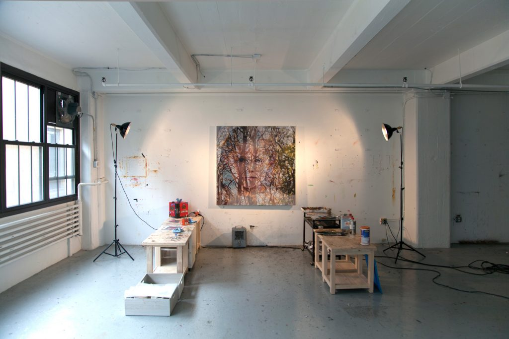 alyssa monks studio artist art painting brooklyn