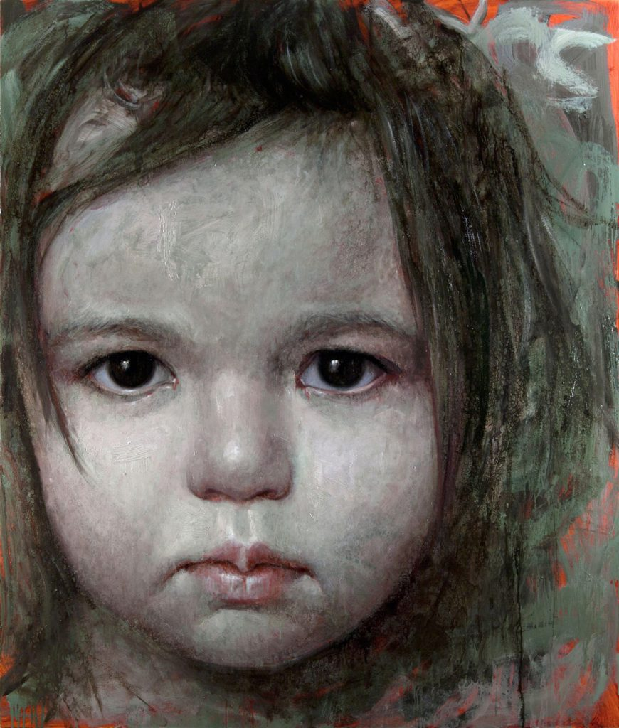 alyssa monks painting tess portrait