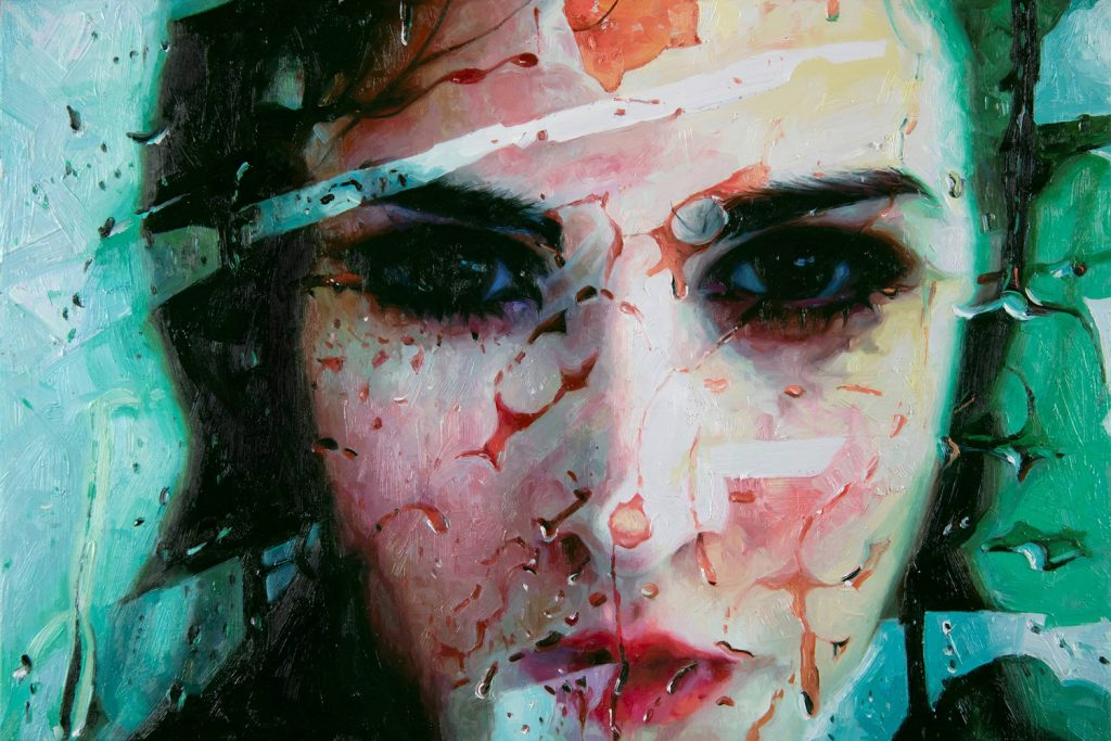alyssa monks painting trance