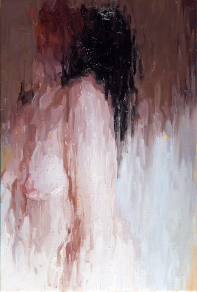 alyssa monks oil painting un-selfing